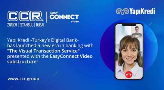 Yapı Kredi Bank chose CCR for their video banking infrastructure.